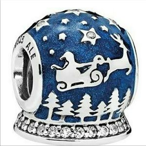 Authentic Pandora Christmas Night Charm